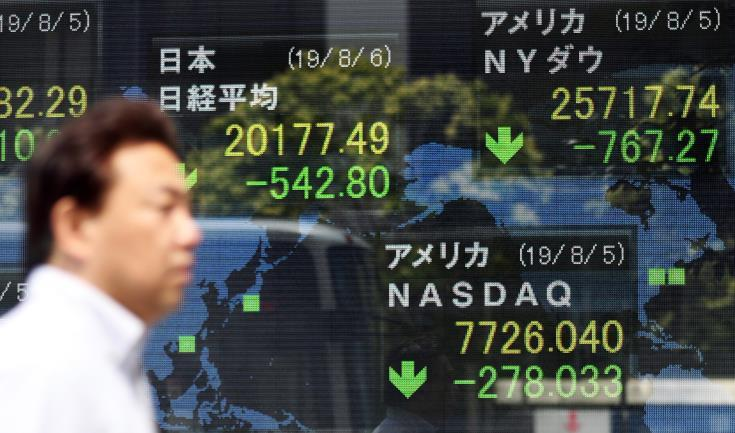 Ανοδικές τάσεις στο χρηματιστήριο του Τόκιο