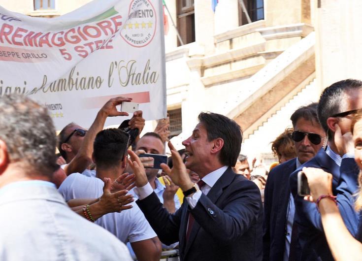 Ομιλία Κόντε στην ιταλική Γερουσία