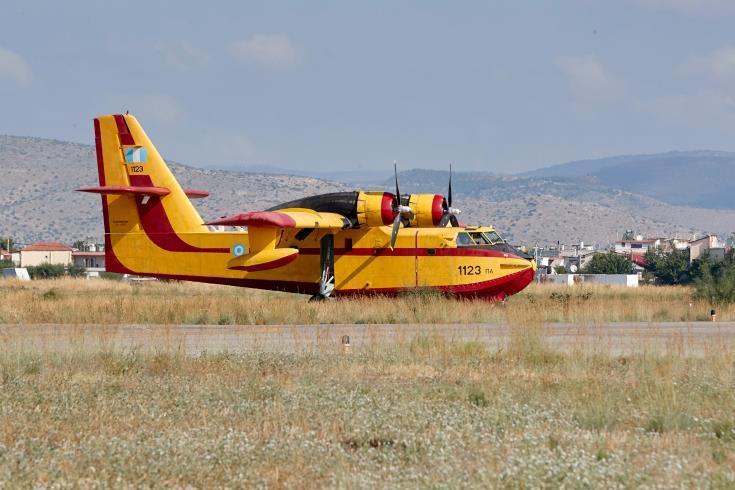 Στην Αθήνα για την τελετή εισδοχής δύο ελληνικών αεροσκαφών στο RescEU o Eπίτροπος Στυλιανίδης