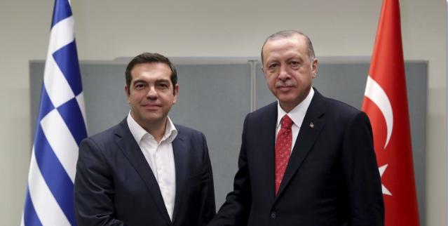 At UN, Tsipras, Erdogan Again Seek Better Greece-Turkey