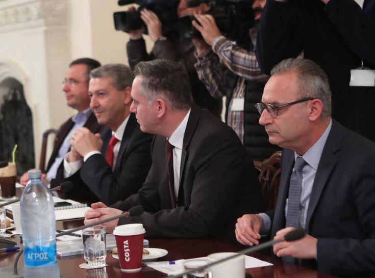 Σε εξέλιξη η συνεδρία του συμβουλίου αρχηγών