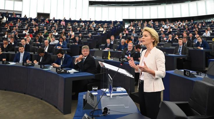 Von der Leyen: Όσοι θέλουν να αφαιρέσουν τις αξίες της ΕΕ, στο πρόσωπό μου θα βρουν μια ορκισμένη εχθρό